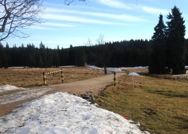 Isergebirge, Januar 2014